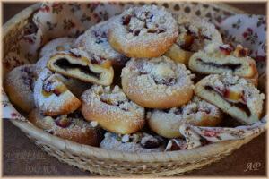 Plněné koláčky se švestkami