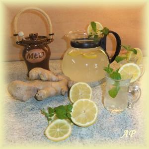 Zázvorový čaj 2