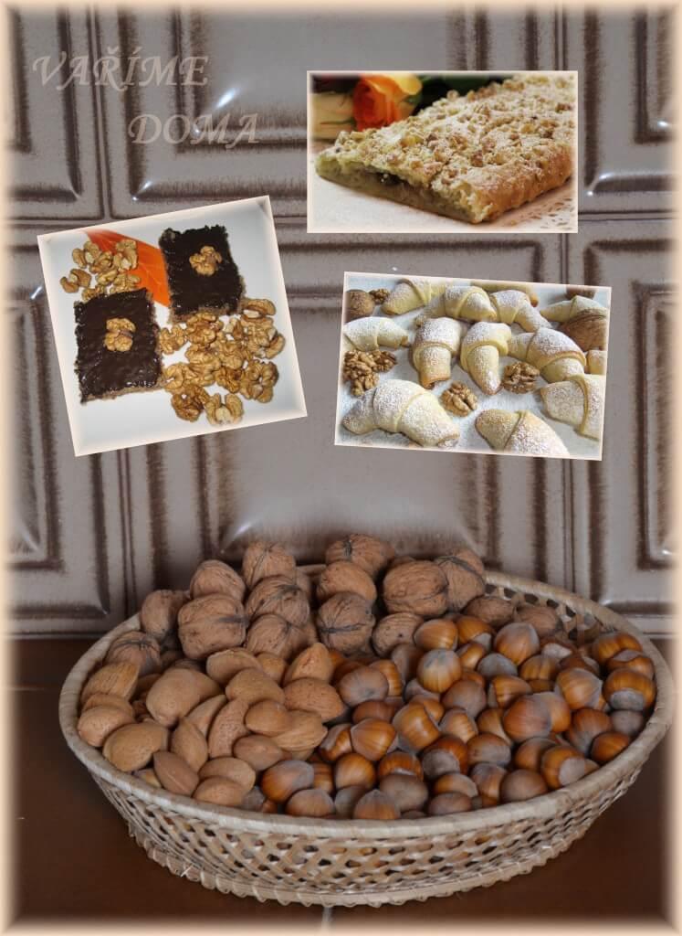 Vaříme pečeme s ořechy