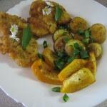 K obědu řízky s dýni a brambory
