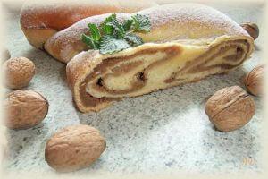 Ořechový cop – závin