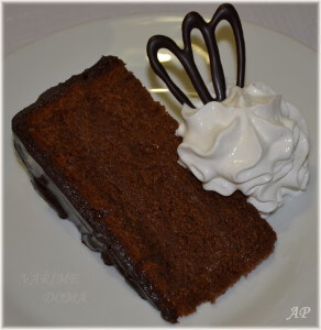 Domácí Sacher dort