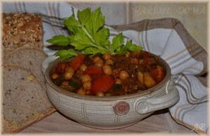 Cizrna se zeleninou 2