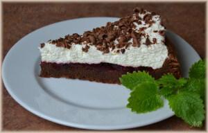 Nadýchaný čokoládový dort bez mouky