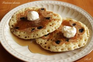 AMERICKÉ LÍVANCE (pancakes)