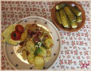 """Zapečené (""""Francouzské"""") brambory"""