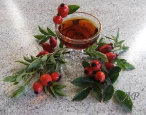 Šípkový likér – vánoční
