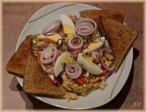 Zeleninový salát s tuňákem 2