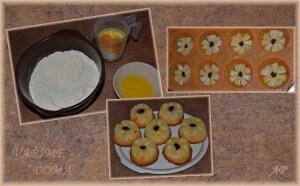 Ananasové bábovičky - postup