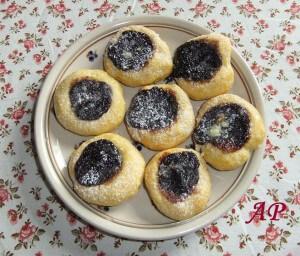 Povidlové koláčky 2