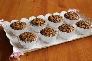 Muffiny z ovesných vloček bez lepku
