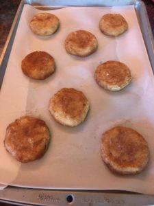 Sušenky z dýně s tvarohovou náplní