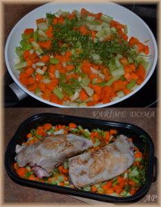 Vepřová plec pečená se zeleninou a na víně 2