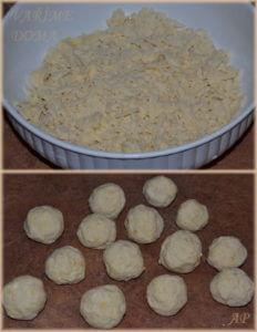Jablečné knedlíky - postup
