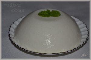 Rýžový kokosový pudink
