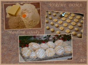 Mandlové sušenky 2