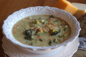Brokolicová polévka La Panera