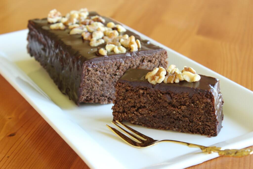 Oříškovo-čokoládový chlebíček